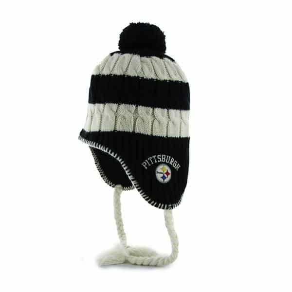 Pittsburgh Steelers Sherpette Black 47 Brand Womens Hat