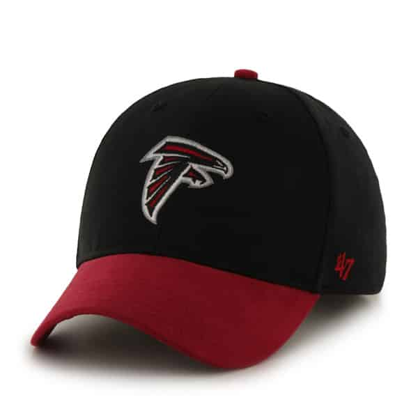 Atlanta Falcons Short Stack MVP Black 47 Brand INFANT Hat