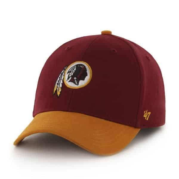 Washington Redskins Short Stack MVP Razor Red 47 Brand KID Hat