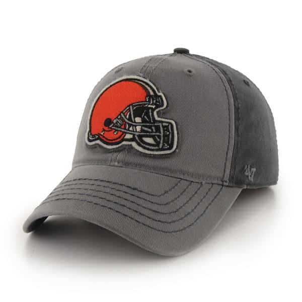 Cleveland Browns Saluki Dark Charcoal 47 Brand Stretch Fit Hat