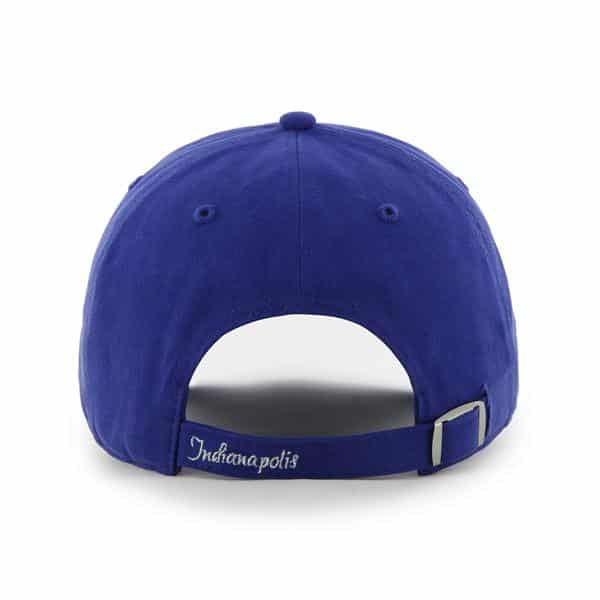best sneakers 76073 80997 Indianapolis Colts Sparkle Team Color Clean Up Royal 47 Brand Womens Hat.  Indianapolis ...