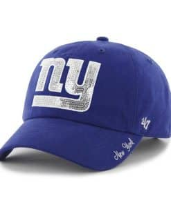 New York Giants Sparkle Team Color Clean Up Royal 47 Brand Womens Hat