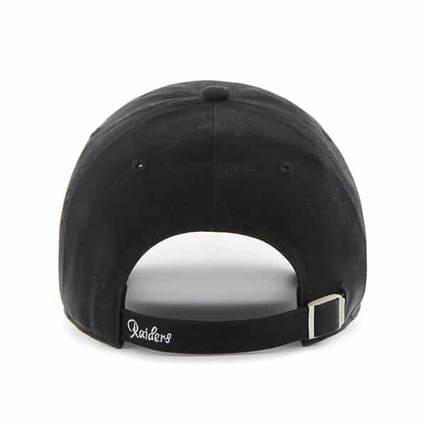 Oakland Raiders Sparkle Team Color Clean Up Black 47 Brand Womens Hat.  Oakland ... cda53a933ce3
