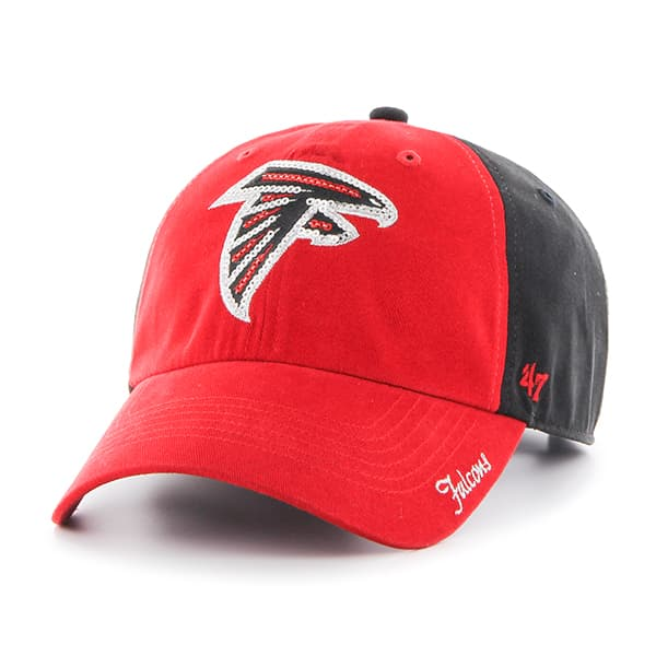 Atlanta Falcons Sparkle Two Tone Clean Up Black 47 Brand Womens Hat