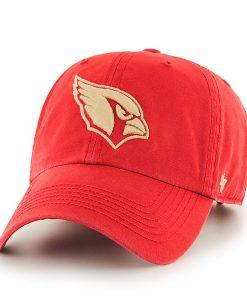 Arizona Cardinals Stillwater Clean Up Red Rock 47 Brand Adjustable Hat