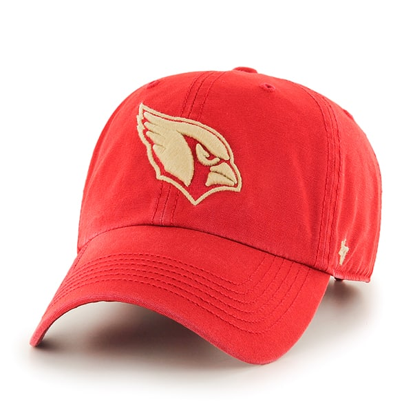 Arizona Cardinals Stillwater Clean Up Red Rock 47 Brand Adjustable Hat