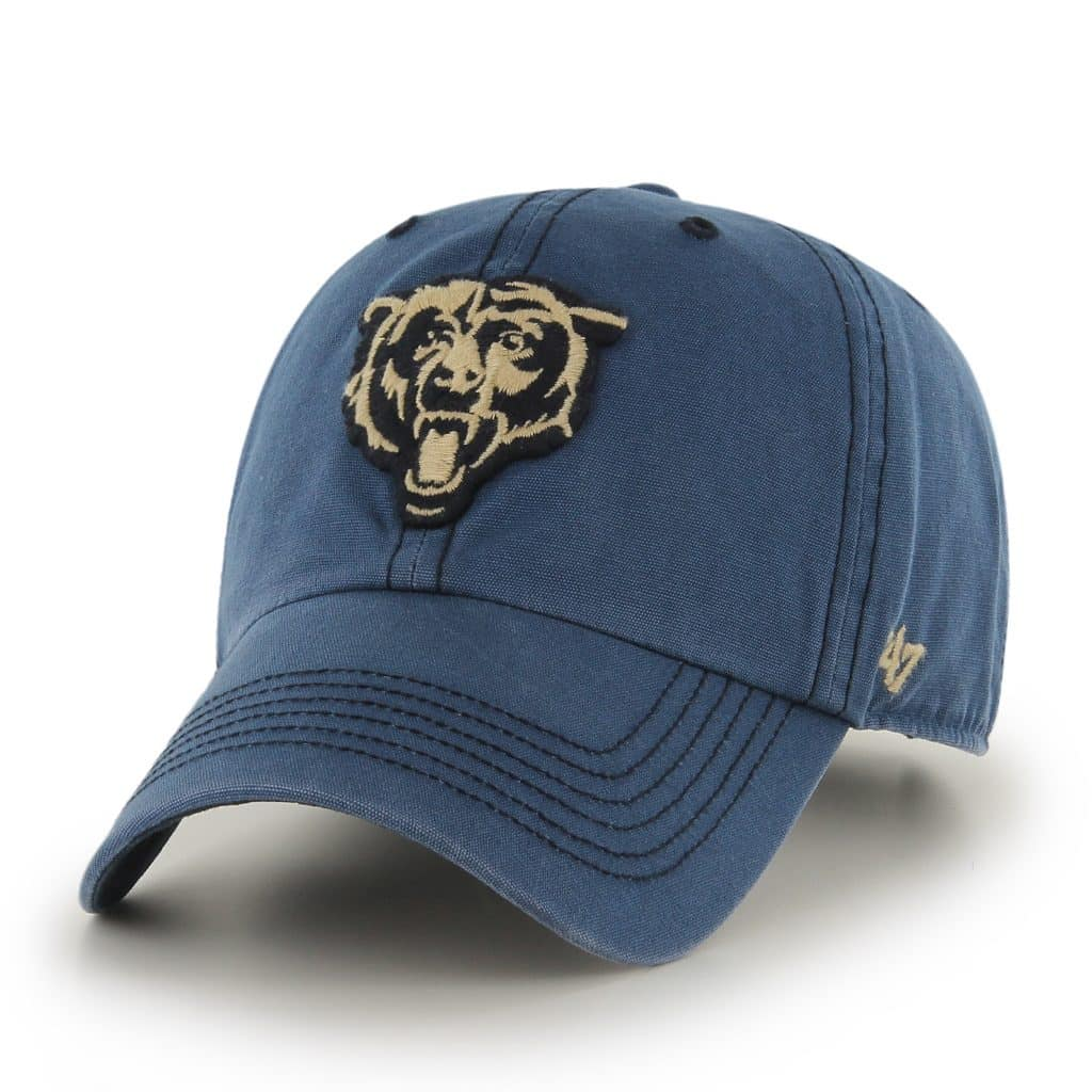 Chicago Bears Stillwater Clean Up Dyer 47 Brand Adjustable Hat