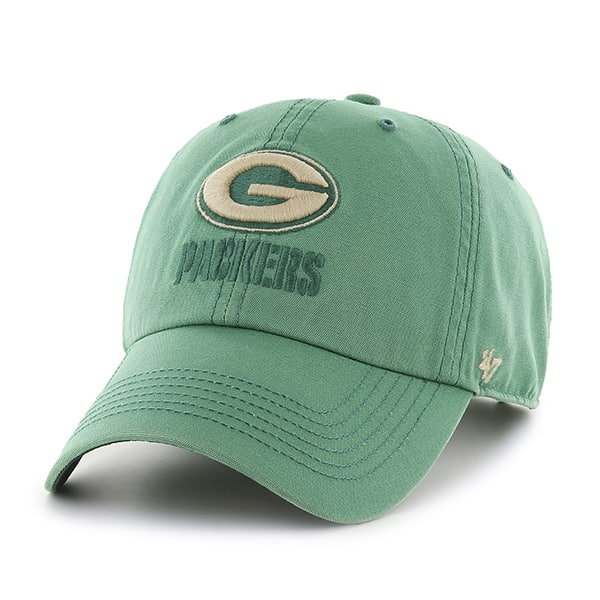 Green Bay Packers Stillwater Clean Up Kelp 47 Brand Adjustable Hat