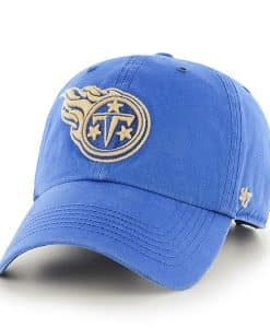 Tennessee Titans Stillwater Clean Up Montego 47 Brand Adjustable Hat