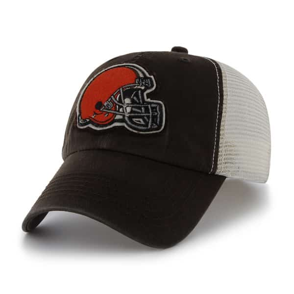 4b9fe3a51699b Cleveland Browns Stanwyk Brown 47 Brand Stretch Fit Hat - Detroit Game Gear