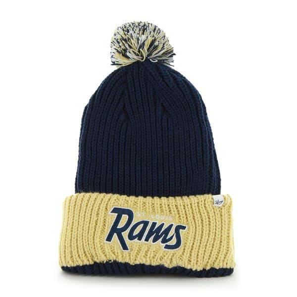 Los Angeles Rams Step Back Light Navy 47 Brand Adjustable Hat