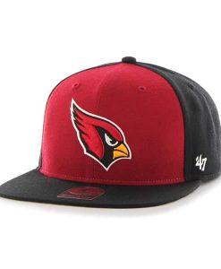 Arizona Cardinals Super Move Captain Black 47 Brand Adjustable Hat