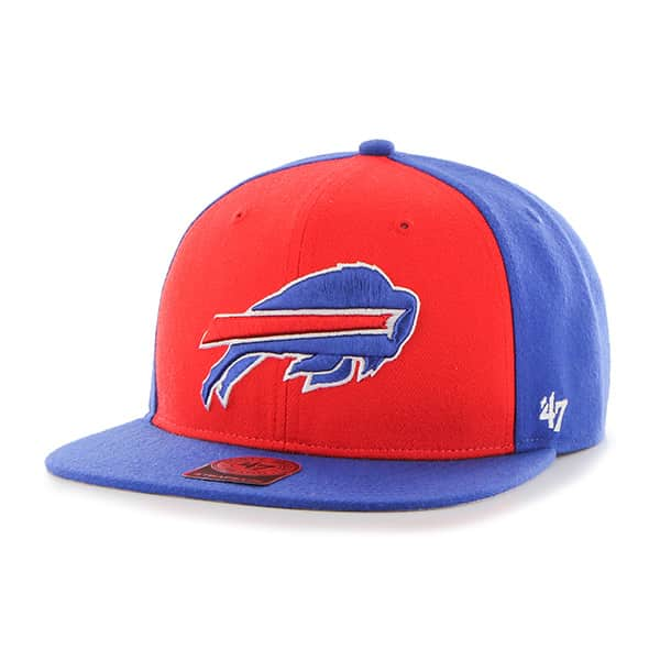 Buffalo Bills Super Move Captain Sonic Blue 47 Brand Adjustable Hat