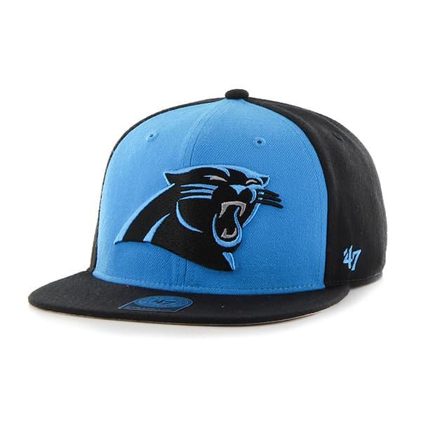 Carolina Panthers Super Move Captain Black 47 Brand Adjustable Hat