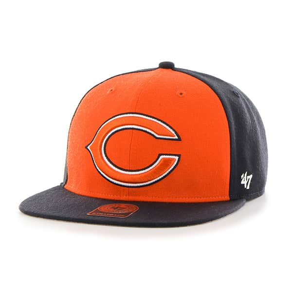Chicago Bears Super Move Captain Navy 47 Brand Adjustable Hat