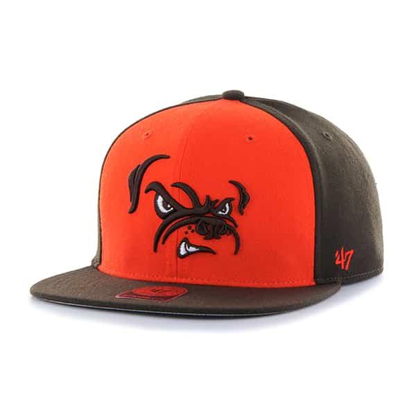 Cleveland Browns Super Move Captain Brown 47 Brand Adjustable Hat