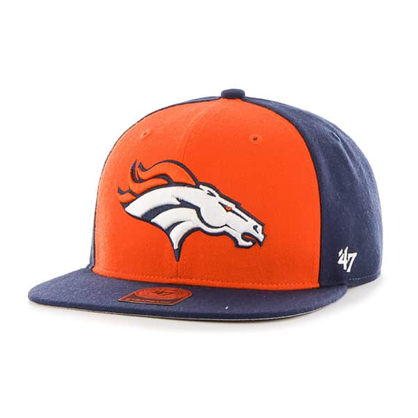 Denver Broncos Super Move Captain Light Navy 47 Brand Adjustable Hat