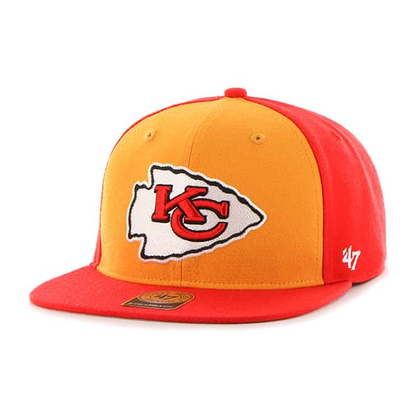 Kansas City Chiefs Super Move Captain Torch Red 47 Brand Adjustable Hat