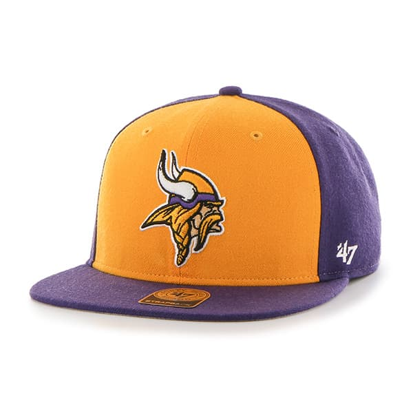 Minnesota Vikings Super Move Captain Purple 47 Brand Adjustable Hat