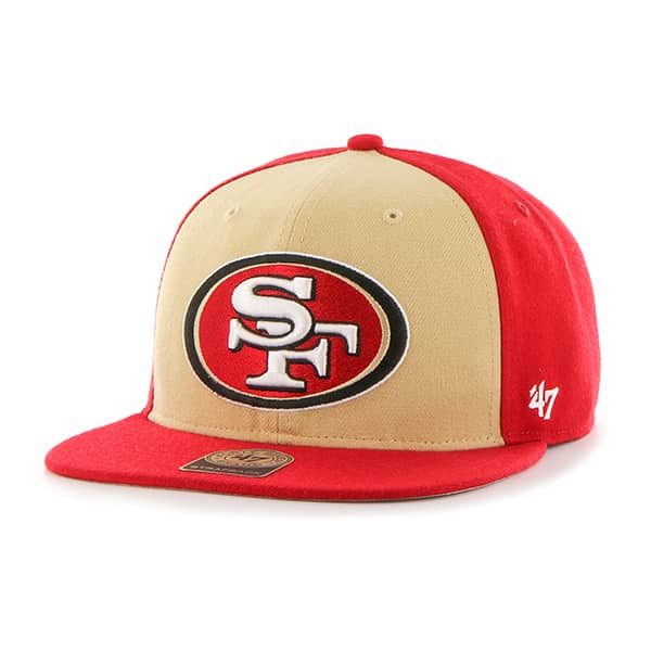 San Francisco 49ers Super Move Captain Red 47 Brand Adjustable Hat