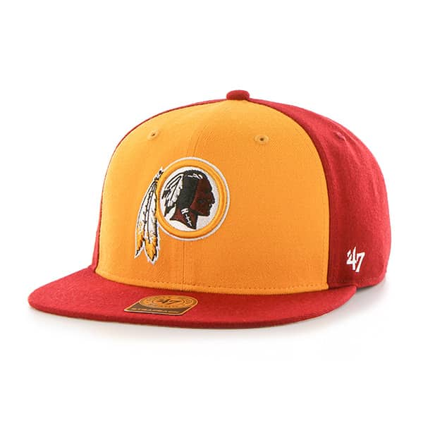 Washington Redskins Super Move Captain Razor Red 47 Brand Adjustable Hat