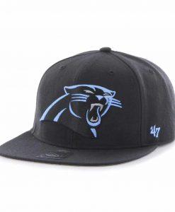 Carolina Panthers Super Shot Captain Black 47 Brand Adjustable Hat