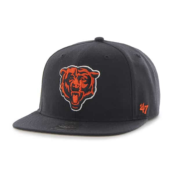 Chicago Bears Super Shot Captain Navy 47 Brand Adjustable Hat