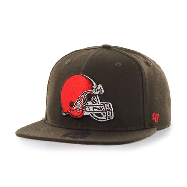 Cleveland Browns Super Shot Captain Brown 47 Brand Adjustable Hat
