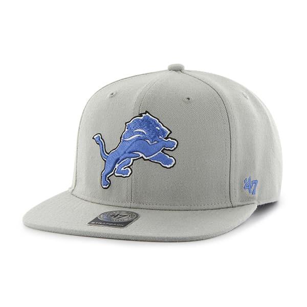 Detroit Lions Super Shot Captain Gray 47 Brand Adjustable Hat