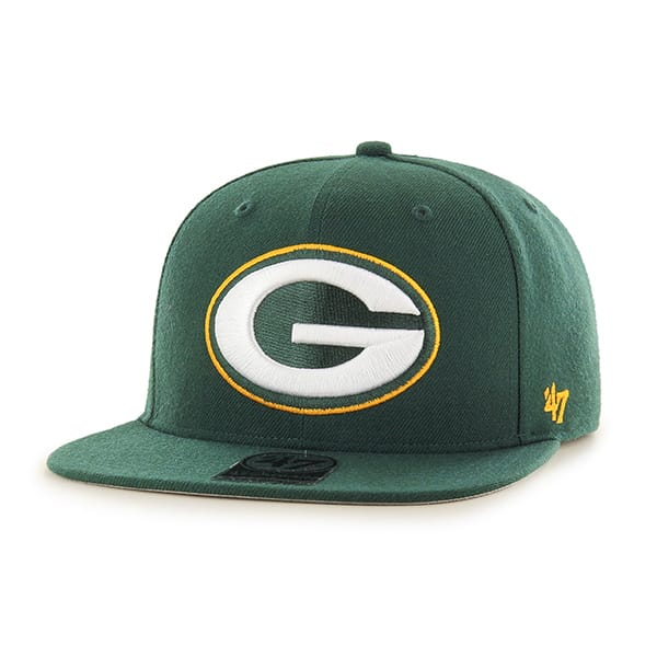 Green Bay Packers Super Shot Captain Dark Green 47 Brand Adjustable Hat