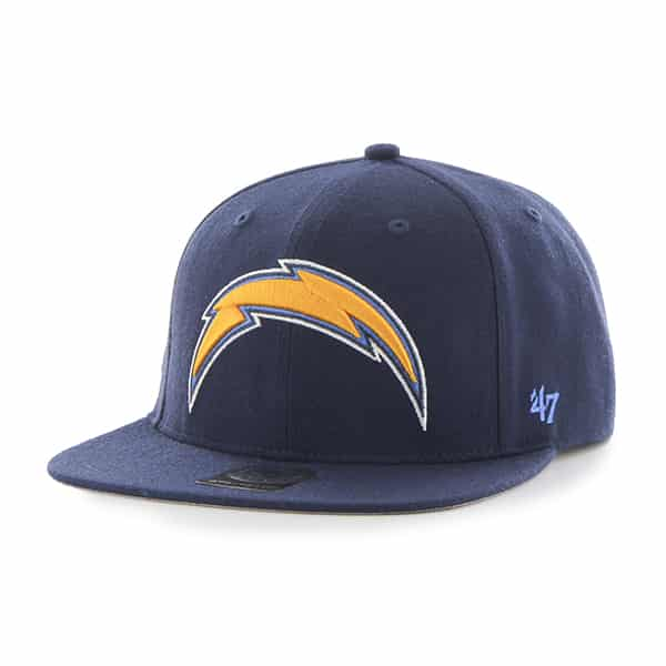 San Diego Chargers Super Shot Captain Light Navy 47 Brand Adjustable Hat