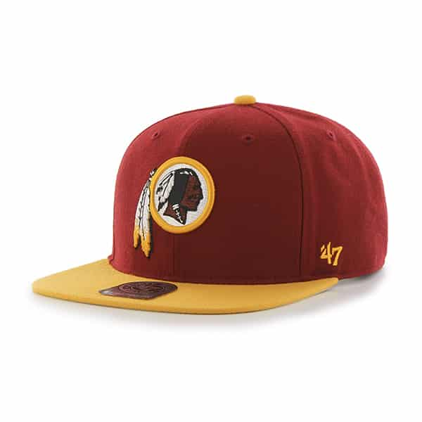 Washington Redskins Super Shot Two Tone Captain Razor Red 47 Brand Adjustable Hat