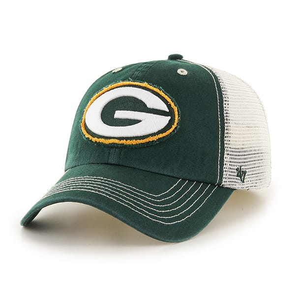 Green Bay Packers Taylor Closer Dark Green 47 Brand Stretch Fit Hat