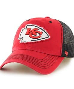 Kansas City Chiefs Taylor Closer Red 47 Brand Stretch Fit Hat