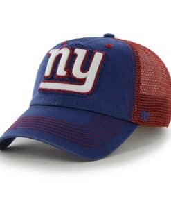New York Giants Taylor Closer Royal 47 Brand Stretch Fit Hat