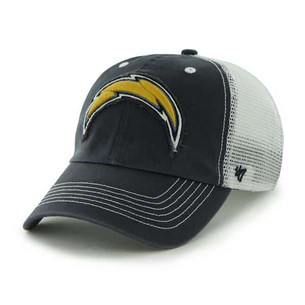 San Diego Chargers Taylor Closer Navy 47 Brand Stretch Fit Hat