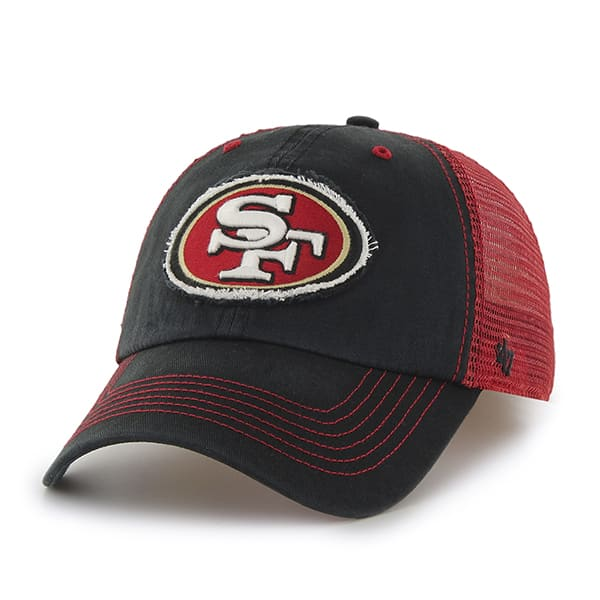 San Francisco 49Ers Taylor Closer Black 47 Brand Stretch Fit Hat