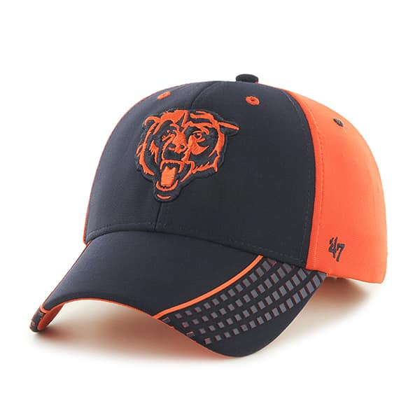 Chicago Bears Tempo MVP Orange 47 Brand Adjustable Hat