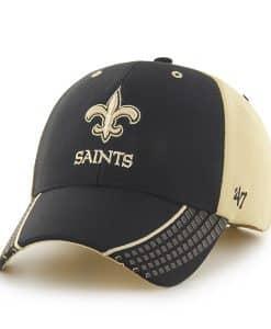 New Orleans Saints Tempo MVP Light Gold 47 Brand Adjustable Hat