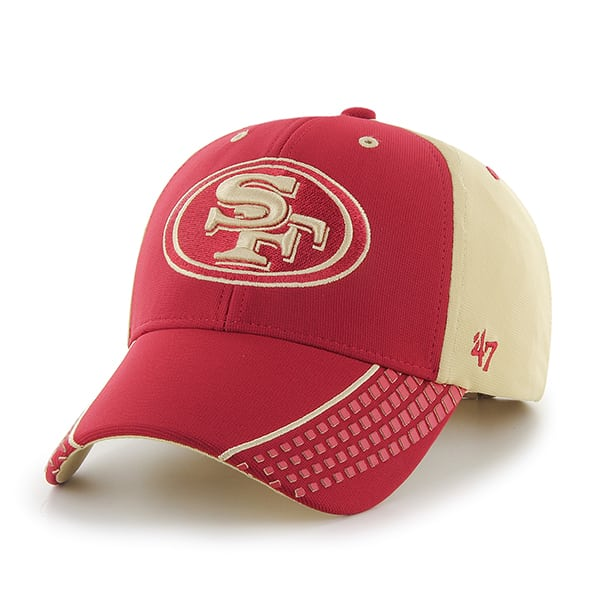 San Francisco 49Ers Tempo MVP Light Gold 47 Brand Adjustable Hat