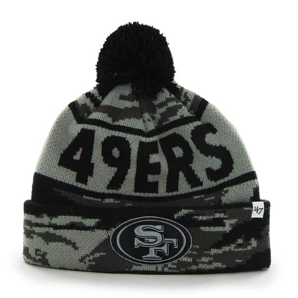 San Francisco 49Ers Tigertooth Tiger Camo 47 Brand Adjustable Hat