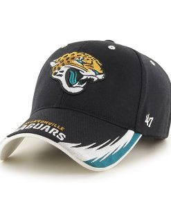 Jacksonville Jaguars Take Down MVP Black 47 Brand Adjustable Hat