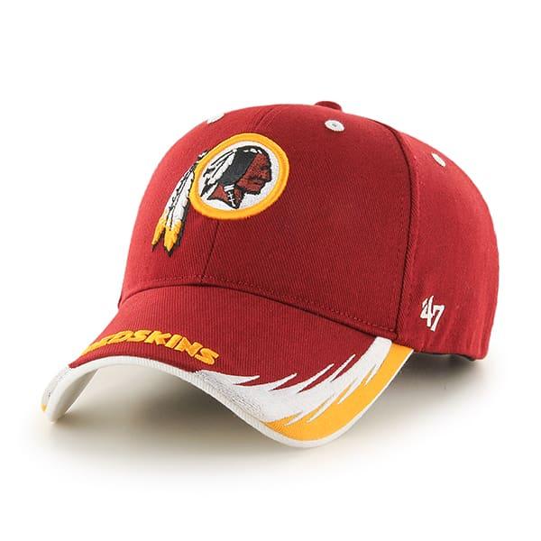 Washington Redskins Take Down MVP Razor Red 47 Brand Adjustable Hat fc67b4c50