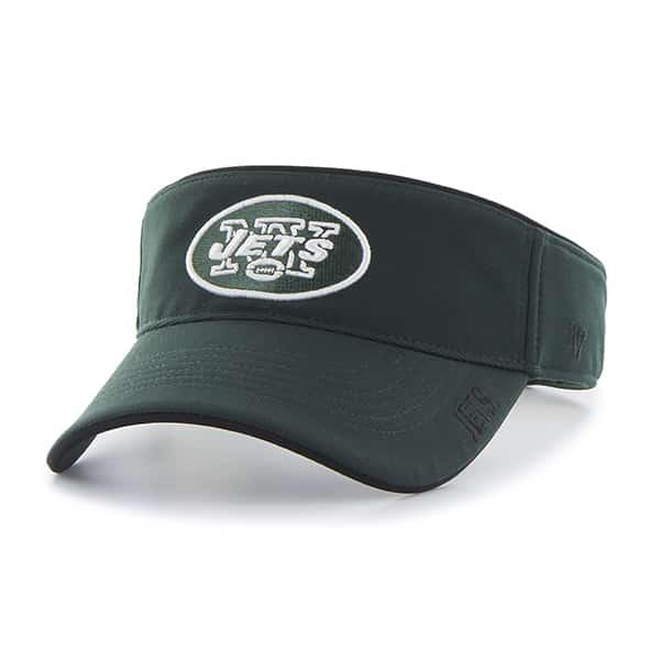 New York Jets Top Rope Visor Dark Green 47 Brand Adjustable Hat