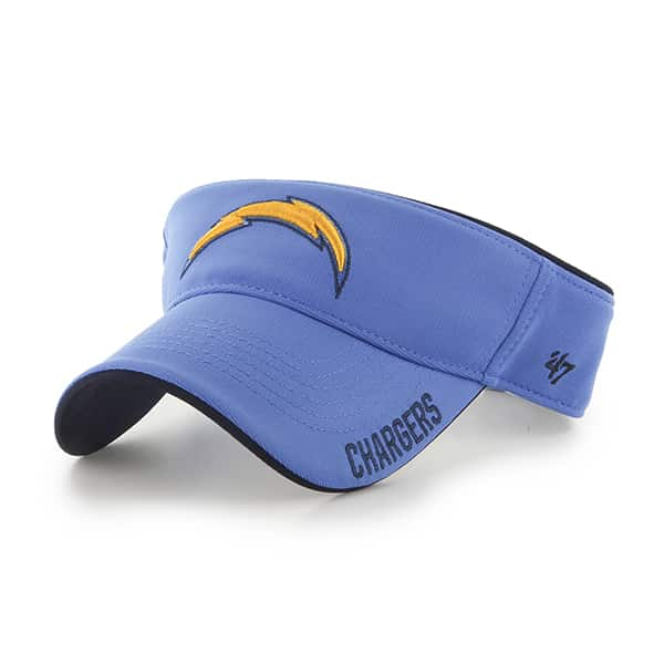 San Diego Chargers Top Rope Visor Blue Raz 47 Brand Adjustable Hat