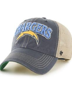San Diego Chargers Tuscaloosa Clean Up Vintage Navy 47 Brand Adjustable Hat