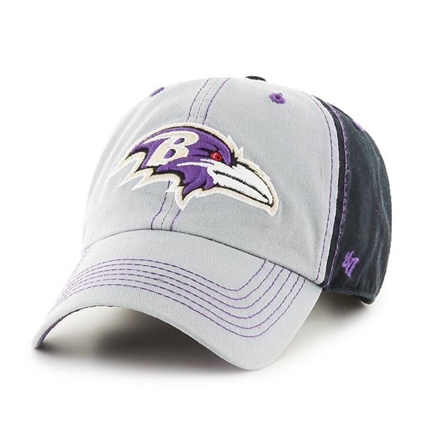 Baltimore Ravens Tumult Clean Up Black 47 Brand Adjustable Hat