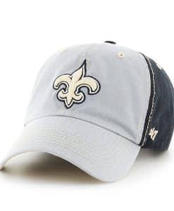 New Orleans Saints Tumult Clean Up Black 47 Brand Adjustable Hat