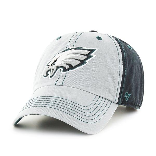 de72ba63b74 Philadelphia Eagles Tumult Clean Up Black 47 Brand Adjustable Hat - Detroit  Game Gear
