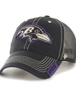 Baltimore Ravens Turner Clean Up Black 47 Brand Adjustable Hat